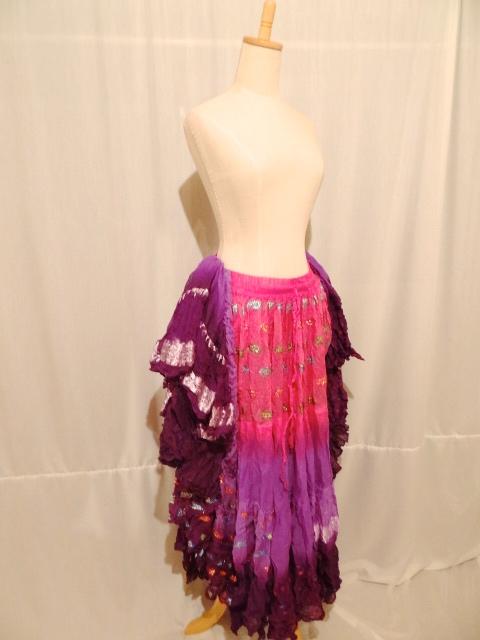 Gypsy skirt  polyester 100% 25yard
